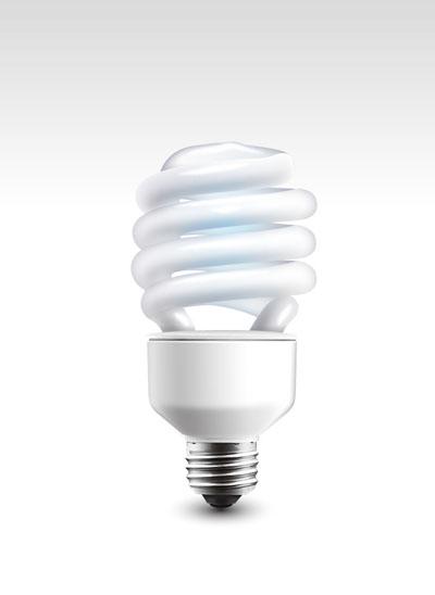Витая энергосберегающая лампочка