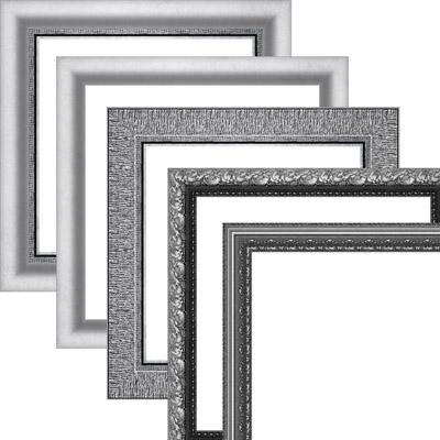 Набор серых (серебряных) рамок
