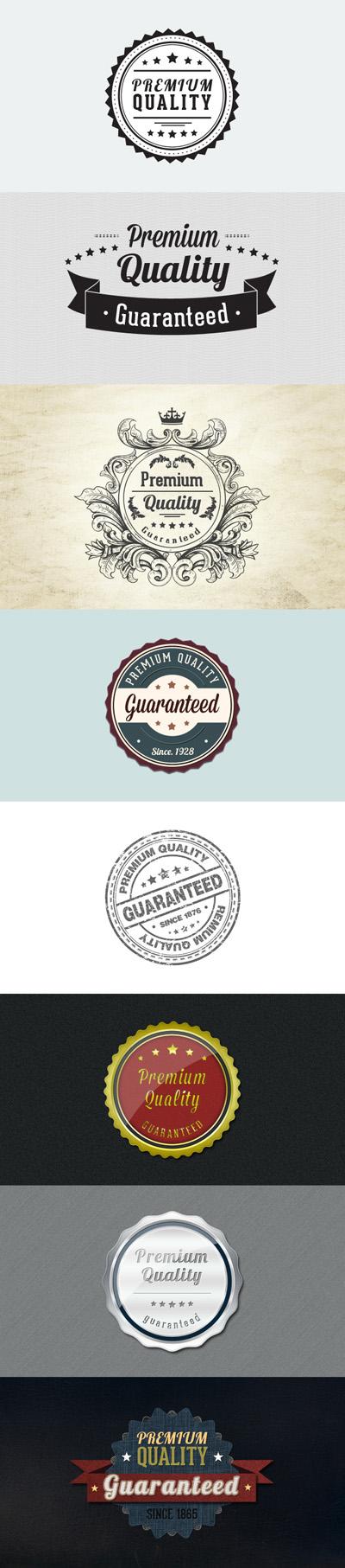 Набор логотипов и лейбов