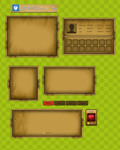 Готовые блоки для разработки игр