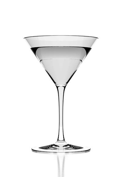 Бокал мартини