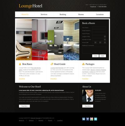 Шаблон сайта отеля
