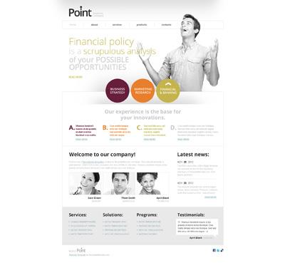Шаблон сайта стартапа