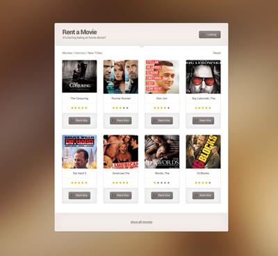 Шаблон приложения для видео роликов и музыки