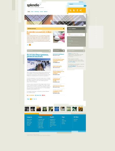 Исходник разноцветного сайта