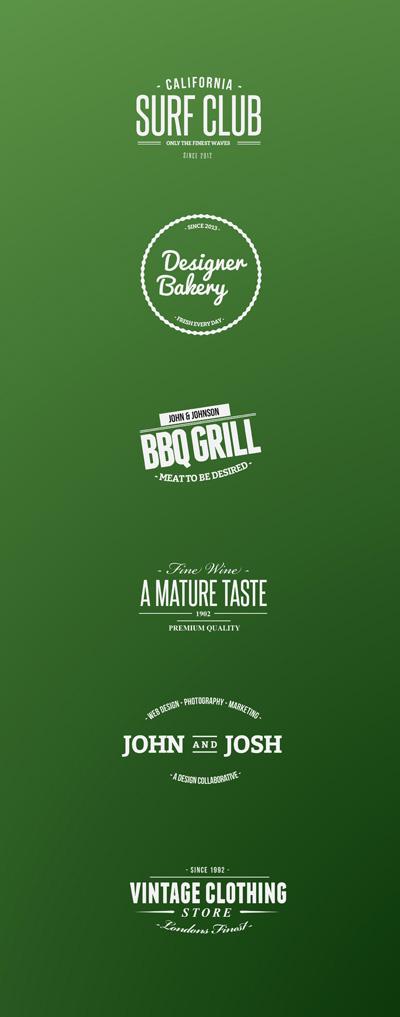 Логотипы для гриль-баров