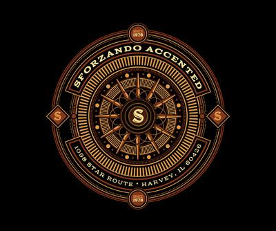 Логотип в винтажном стиле