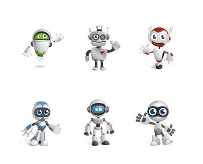 Иконки роботов