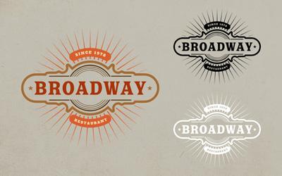 Логотип ресторана, бара, кафе