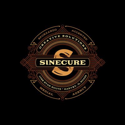 Старинный логотип для веб-студии