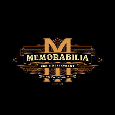Логотип с буквой М