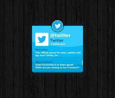 Блок Twitter