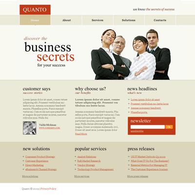 Исходник бизнес сайта