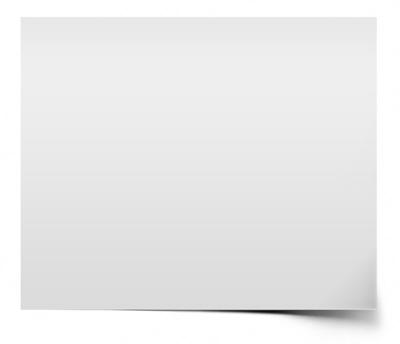 Бумажный лист с тенью