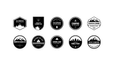 Черно-белые логотипы