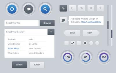 Набор кнопок для сайта