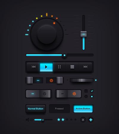 Музыкальный UI