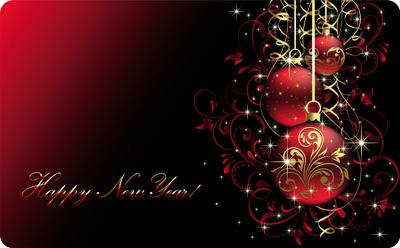 Просто открытка на новый год