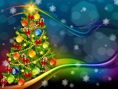 Шаблон новогодний