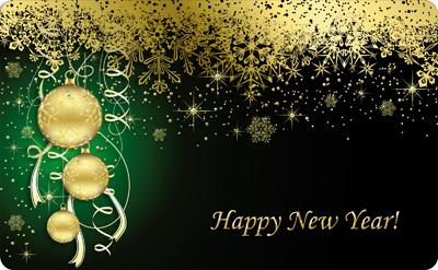 Карта новогодняя