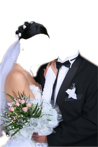 Свадебное платье для вставки фото
