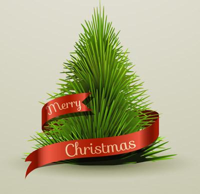 Простая новогодняя елка