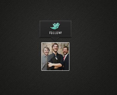 Иконка следования Twitter