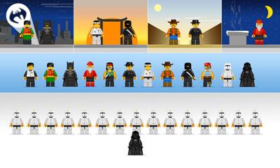 Человечки LEGO