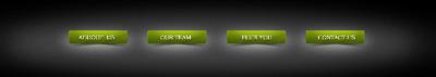 Зеленое меню с отдельными кнопками