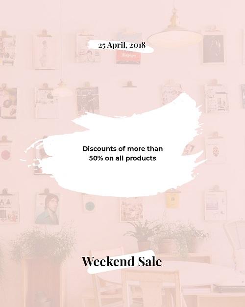 Баннер распродажи одежды
