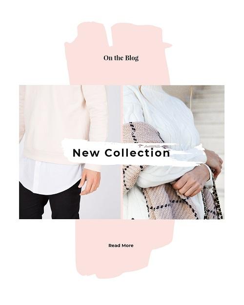 Баннер для новой коллекции одежды