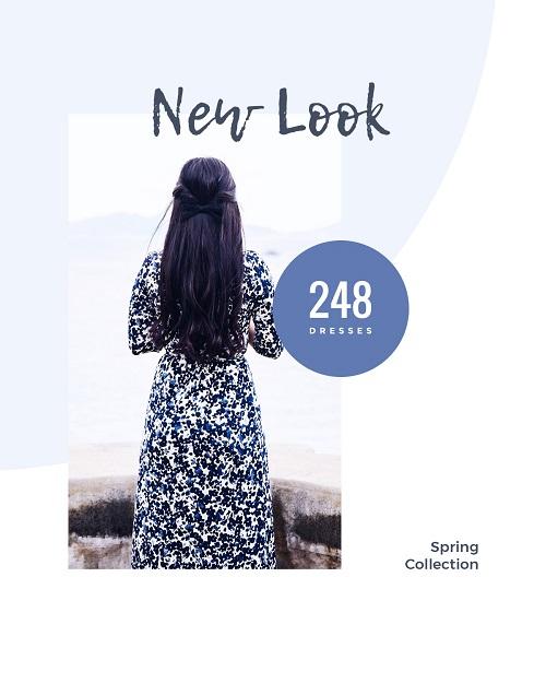 Баннер для новой коллекции платьев