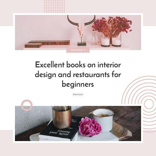 Шаблон для презентации коллекции дизайна интерьера