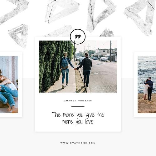 Шаблон фотоотчета о путешествиях