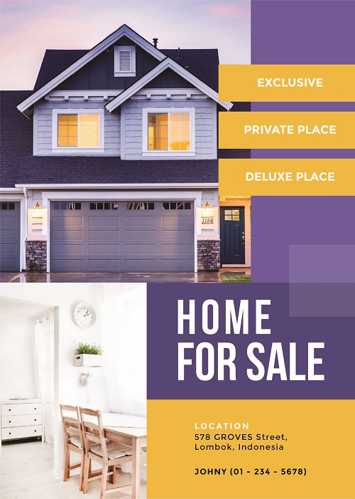 Шаблон рекламы продажи недвижимости