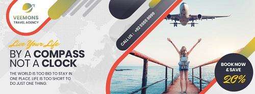 Рекламный буклет о путешествиях