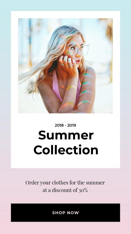 Летняя коллекция одежды