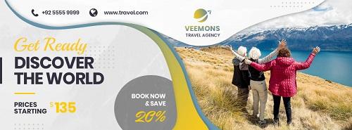 Рекламный шаблон для путешествий