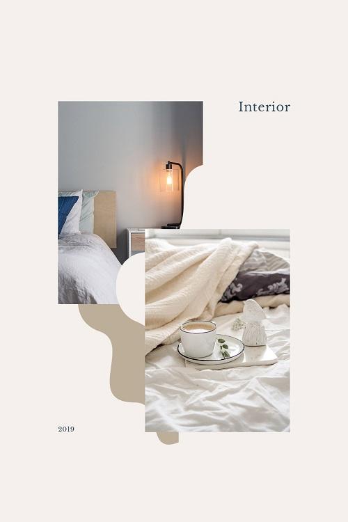 Обложка для журнала об интерьере