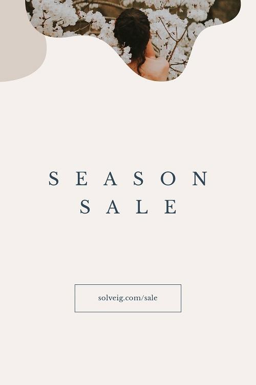 Легкий баннер для сезонной распродажи