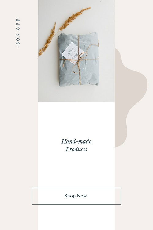 Обложка для коллекции hand made товаров