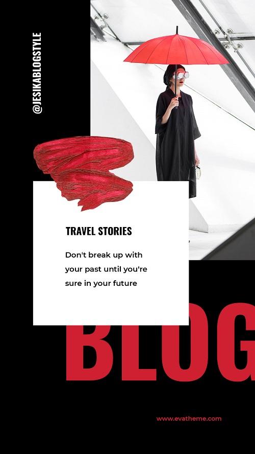 Обложка-баннер для тревел блога