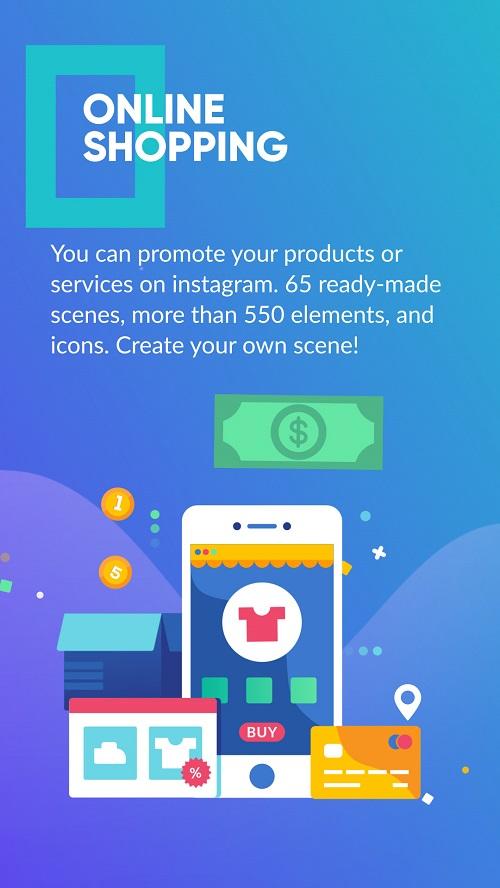 Шаблон для онлайн шопинга