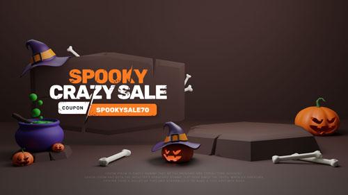 Распродажа на halloween