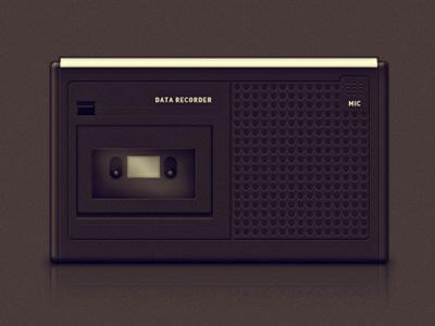 Старый кассетный плеер