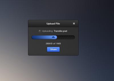 Блог процесса загрузки файла
