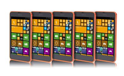 Мокап телефонов Nokia