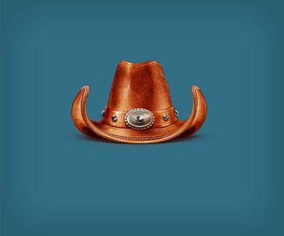 Исходник ковбойской шляпы