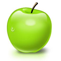 Исходник зеленого яблока