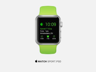 Исходник часов Apple